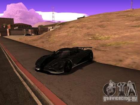 ENB Simple HD v1 для GTA San Andreas второй скриншот