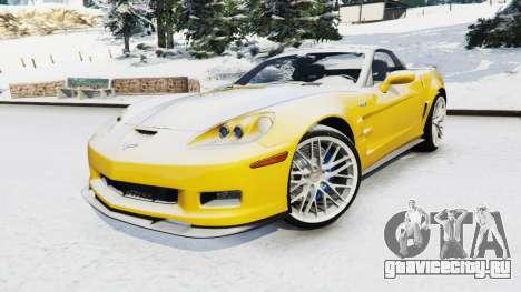 Chevrolet Corvette ZR1 для GTA 5 вид справа