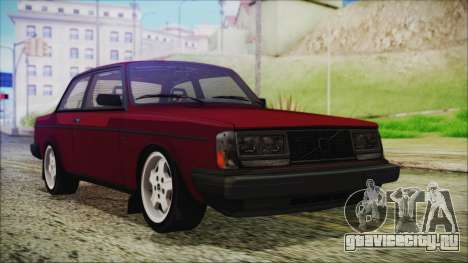 Volvo Turbo 242 Evolution Turbo 1983 для GTA San Andreas