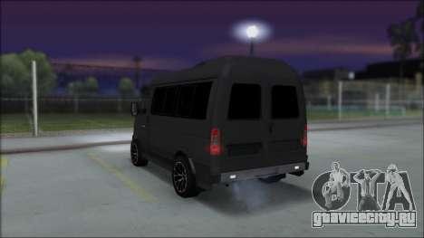 Газ 2217 Luxe для GTA San Andreas вид слева