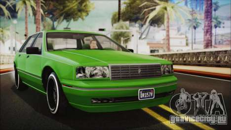 GTA 5 Albany Primo Custom No Interior IVF для GTA San Andreas