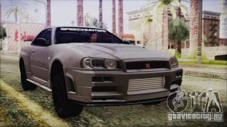 Nissan Skyline Nismo Body Kit для GTA San Andreas