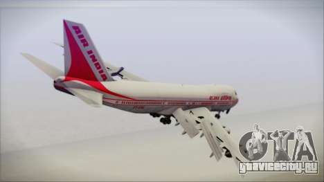 Boeing 747-237Bs Air India Emperor Shahjehan для GTA San Andreas вид слева