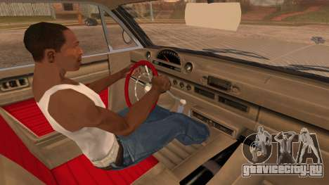 GTA 5 Declasse Clean Voodoo Bobble Version для GTA San Andreas вид справа