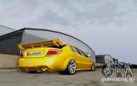 Ikco Dena Full Tuning для GTA San Andreas вид сзади слева