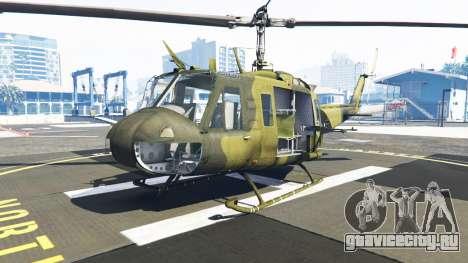 Bell UH-1D Huey Bundeswehr для GTA 5