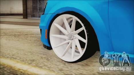 Dacia Logan Cadde Style для GTA San Andreas вид сзади слева