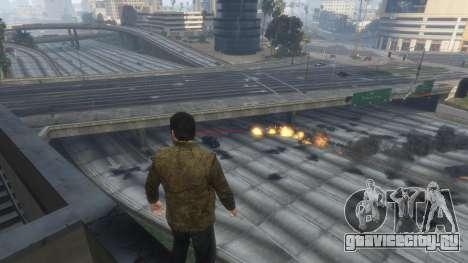 Тепловое зрение Супермена 1.1 для GTA 5 четвертый скриншот