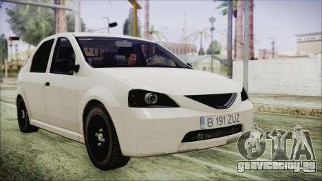 Dacia Logan для GTA San Andreas