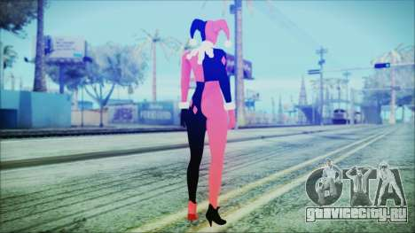 Batman Arkham Knight Harley Quinn Classic для GTA San Andreas третий скриншот