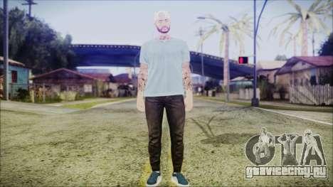 GTA Online Skin 5 для GTA San Andreas второй скриншот