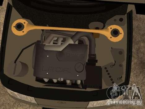 ВАЗ 2110 ДПС для GTA San Andreas двигатель