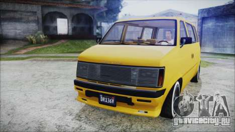 GTA 5 Declasse Moonbeam Bobble Version для GTA San Andreas