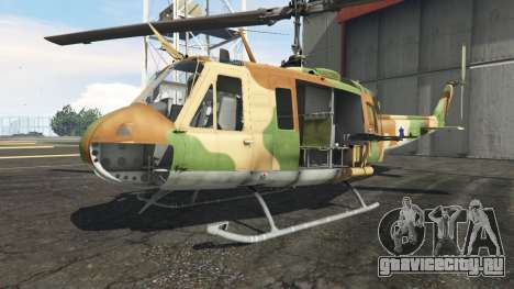 Bell UH-1D Israeli Air Force для GTA 5