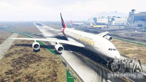 Airbus A380-800 для GTA 5