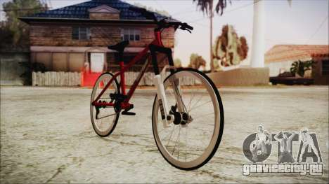 Scorcher Racer Bike для GTA San Andreas вид сзади слева