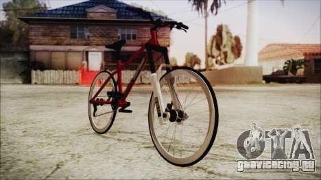 Scorcher Racer Bike для GTA San Andreas вид сзади слева