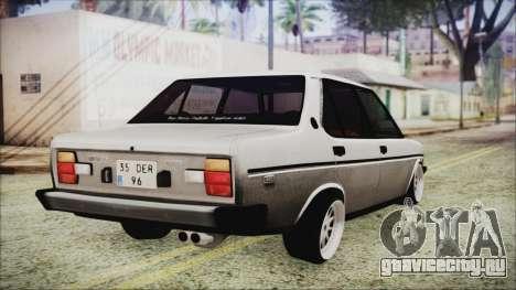 Tofas 131 Mirafiori Edition для GTA San Andreas вид слева