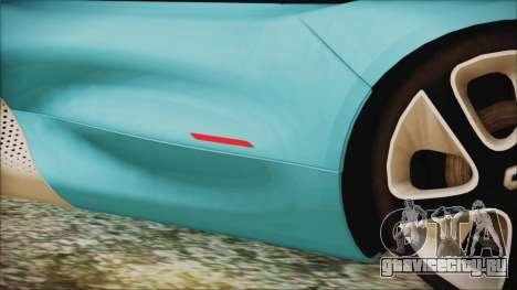 Renault Dezir Concept 2010 v1.0 для GTA San Andreas вид сверху