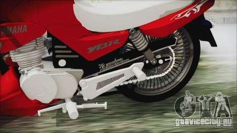 Yamaha YBR Tuning для GTA San Andreas вид справа
