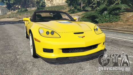 Chevrolet Corvette ZR1 для GTA 5