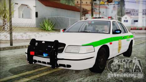 Ford Crown Victoria Miami Dade для GTA San Andreas