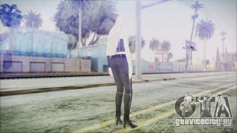 DMC4 Trish для GTA San Andreas третий скриншот