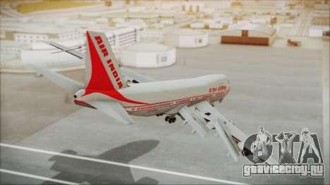 Boeing 747-237Bs Air India Kanishka для GTA San Andreas вид слева
