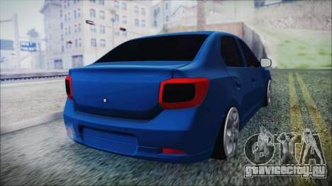 Dacia Logan 2015 для GTA San Andreas вид слева