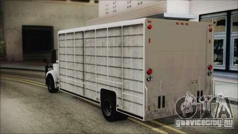 Indonesian Benson Truck In Real Life Version для GTA San Andreas вид слева