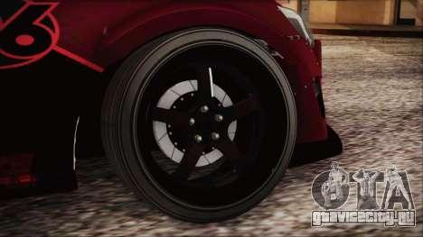 Toyota GT86 Speedhunters для GTA San Andreas вид сзади слева