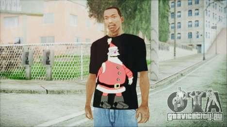 Santa T-Shirt для GTA San Andreas