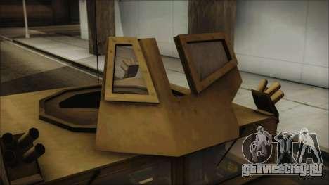 HMMWV Patriot для GTA San Andreas вид справа