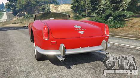 Ferrari 250 California 1957 для GTA 5
