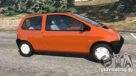 Renault Twingo I для GTA 5 вид слева