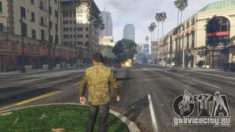 Тепловое зрение Супермена 1.1 для GTA 5 шестой скриншот