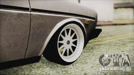 Tofas 131 Mirafiori Edition для GTA San Andreas вид сзади слева