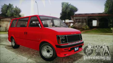 GTA 5 Declasse Moonbeam IVF для GTA San Andreas