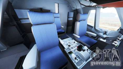 Airbus A380-800 для GTA 5 шестой скриншот