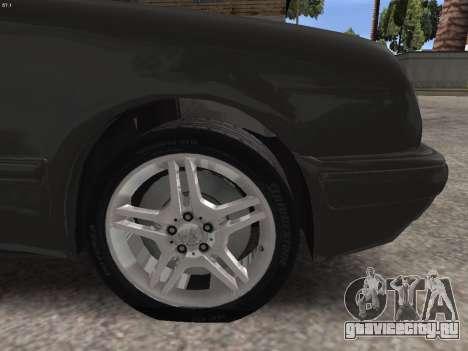 Mercedes-Benz E420 для GTA San Andreas вид сверху