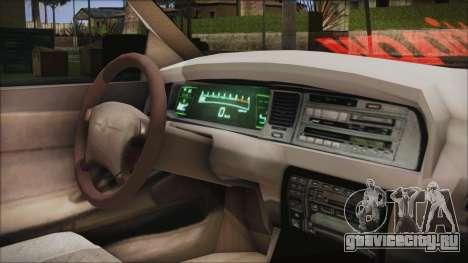 Toyota Crown VIP для GTA San Andreas вид справа