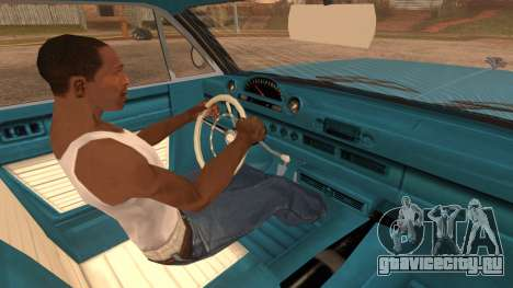 GTA 5 Declasse Clean Voodoo Bobble Version IVF для GTA San Andreas вид сзади слева