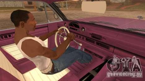 GTA 5 Declasse Clean Voodoo для GTA San Andreas вид сзади слева
