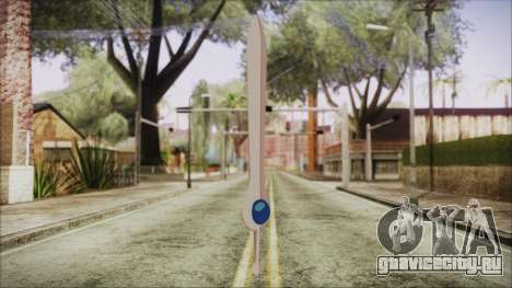 Finn Sword from Adventure Time для GTA San Andreas второй скриншот