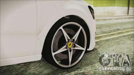 Volkswagen Polo 1.2 TSI для GTA San Andreas вид сзади слева