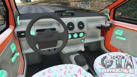 Renault Twingo I для GTA 5 вид сзади справа
