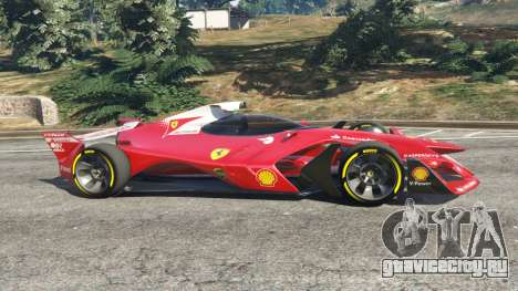 Ferrari F1 Concept для GTA 5 вид слева