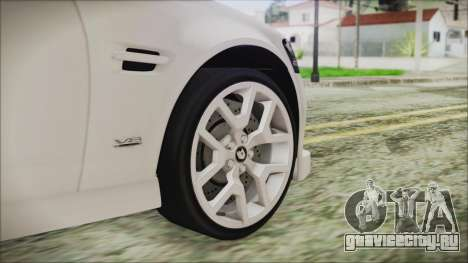 Holden Commodore VE Sportwagon 2012 для GTA San Andreas вид сзади слева