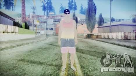 GTA Online Skin 31 для GTA San Andreas второй скриншот