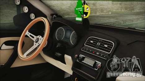 Volkswagen Polo 1.2 TSI для GTA San Andreas вид справа